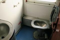 Alter Chinesischer Zug - Toilette