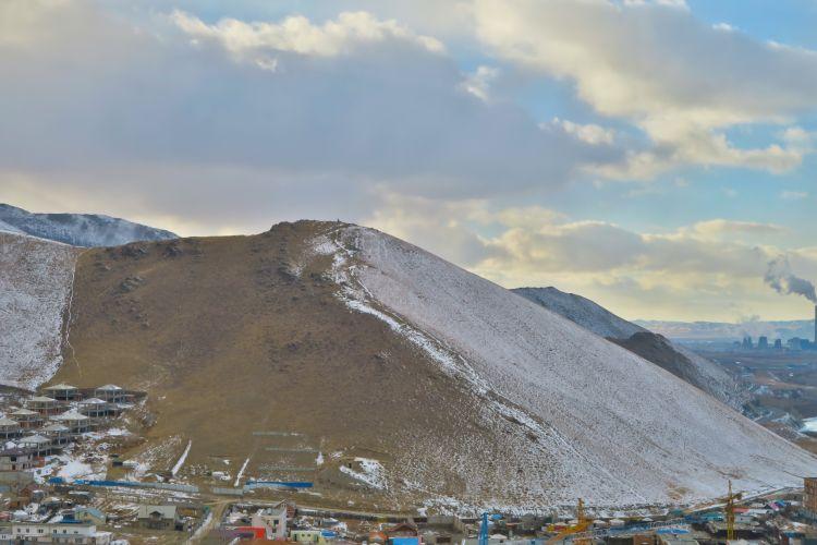 Bestiegener Berg