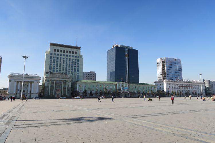 Suechbaatar-Platz