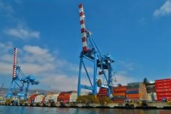 Hafenrundfahrt - Containerhafen