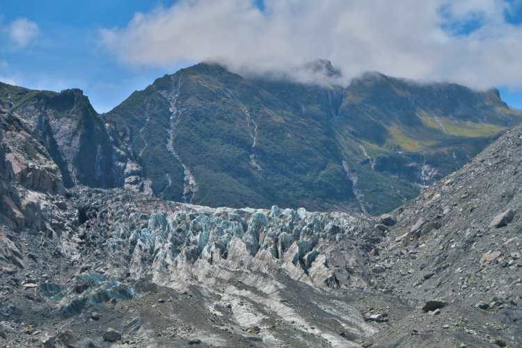 Fox Gletscher - Eis
