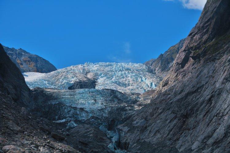 Franz Josef Gletscher - Eis