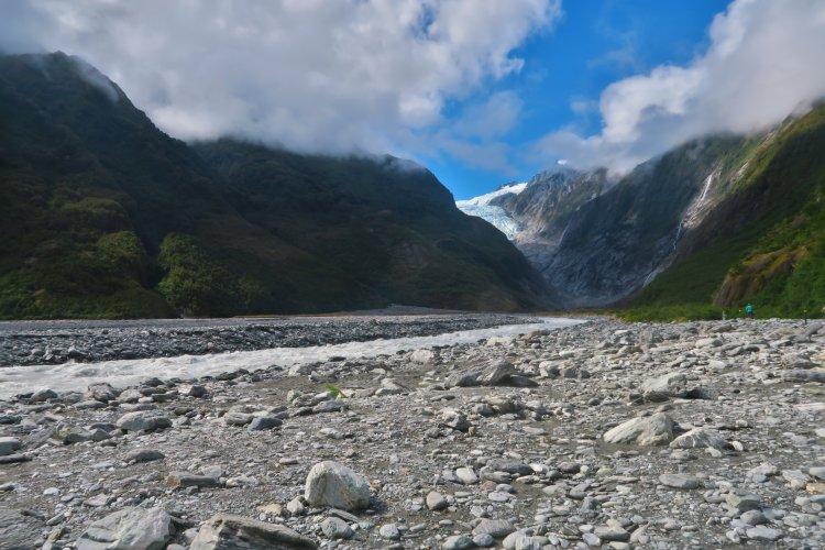 Franz Josef Gletscher - Waiho River