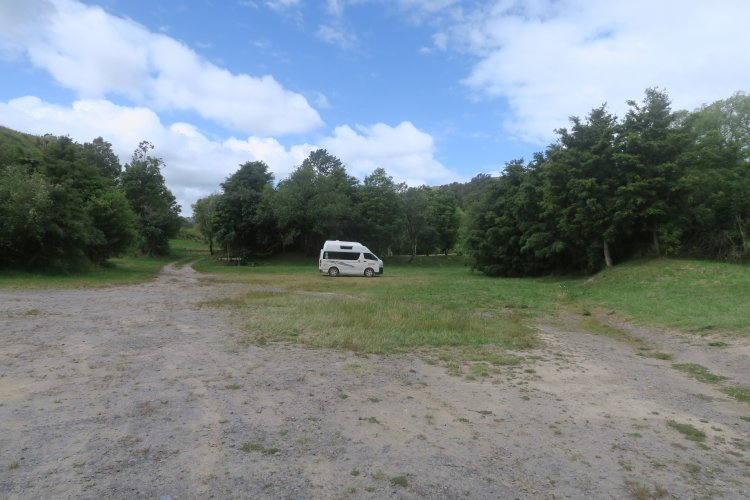 DOC Platz am Whanganui River