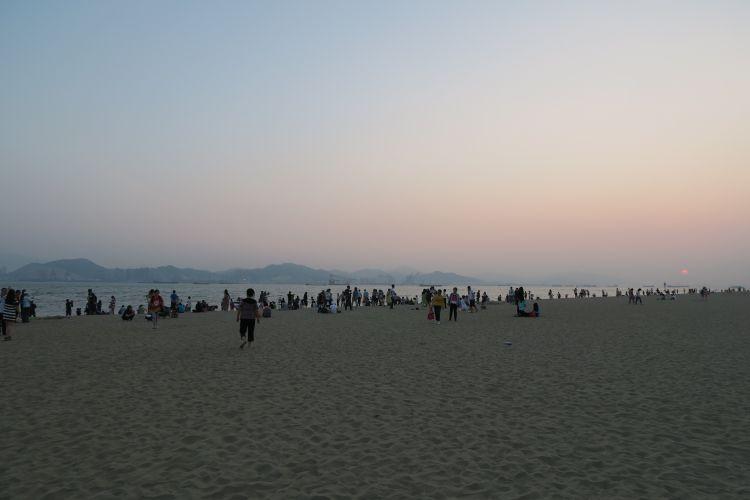 Insel Gulangyu Sonnenuntergang Stadt der Engel