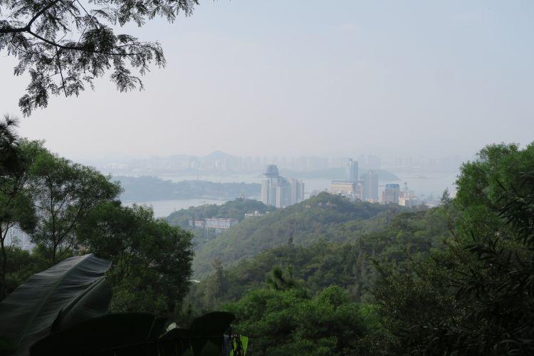 Nanputuo Tempel - Blick nach Xiamen