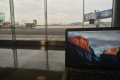 Flughafen - Wartehalle