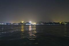 Insel Gulangyu bei Nacht