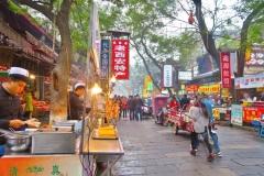Foodmarket im muslimischen Viertel