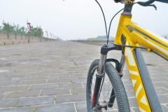 Radtour auf der Stadtmauer