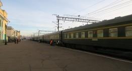Mit der Transsibirischen / Transmongolischen Eisenbahn von Irkutsk nach Ulan Bator