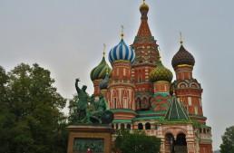 Angekommen in Moskau