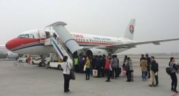 Mit dem Flugzeug von Xi'an nach Shanghai oder warum ich lieber Zug fahre