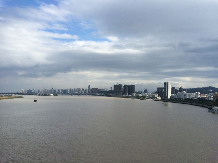 Fluss-Shanghai-Xiamen